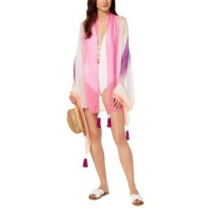 I.N.C. Ombré Sarong Cover-Up & Wrap, Multi-Colored